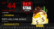 Red Stag Casino 44 FREE WGS Cash Grab Spins plus 500% Match Bonus Welcome Package