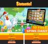Slotastic Online Casino Eggciting Easter Offer RTG Hen House Asgard