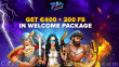7BitCasino €400 plus 200 FREE Spins Welcome Package