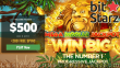 Bitstarz Casino $500 Bonus plus 200 FREE Spins Welcome Package Microgaming Mega Moolah