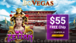 BoVegas Casino Exclusive $55 FREE Chip No Deposit Deal