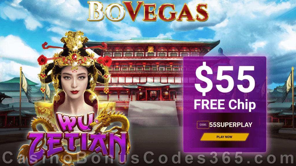 Bovegas Casino Exclusive 55 Free Chip No Deposit Deal Casino Bonus Codes 365
