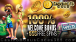 Da Vinci's Gold 100% Match Bonus plus 555 FREE Spins on Rival Gaming Gold Bricks Welcome Offer