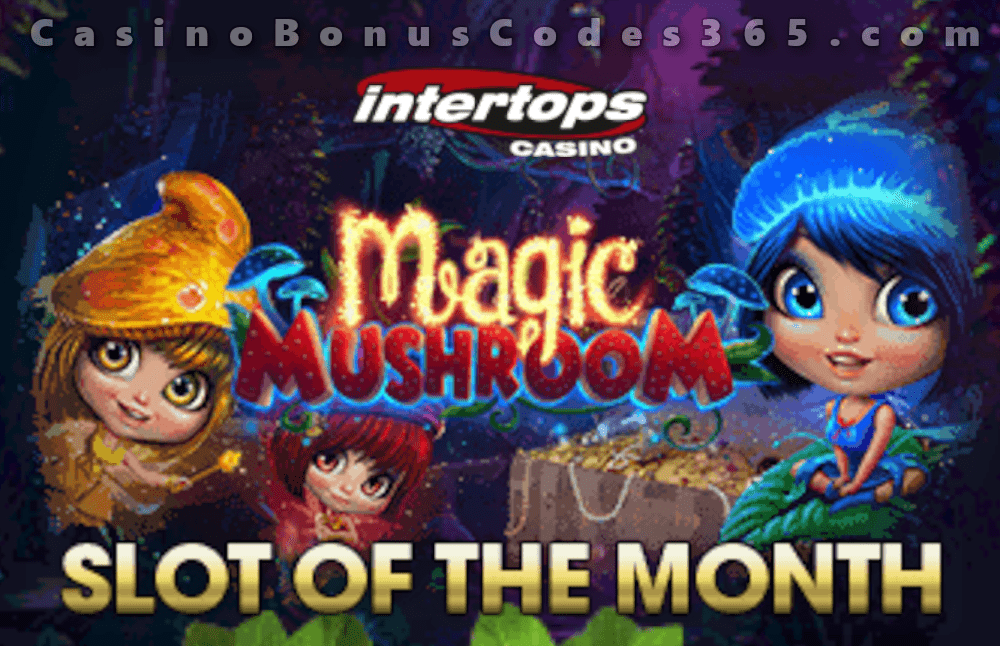 Intertops Casino Red RTG Magic Mushroom May Slot of the Month
