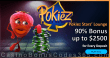 Pokiez Stars' Lounge 90% Match Bonus up to $2500 for every Deposit