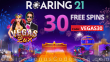 Roaring 21 40 FREE Spins Vegas Lux New RTG Game Special Promo