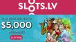 Slots.LV $5000 Welcome Bonus