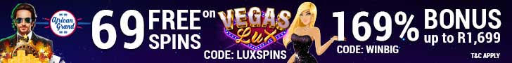African Grand Online Casino RTG Vegas Lux