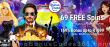 African Grand 69 FREE RTG Vegas Lux Spins plus 169% Match Bonus Special Welcome Offer
