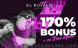 El Royale Casino 170% Match Bonus plus 20 RTG FREE Spins on Cash Bandits 2 June Game of the Month Offer