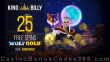 King Billy Casino 25 FREE Pragmatic Play Wolf Gold Spins No Deposit Welcome Deal
