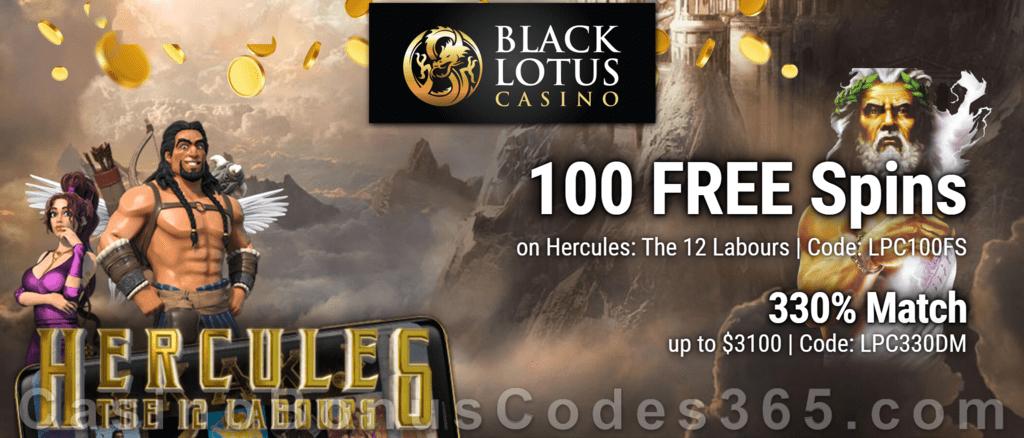 Black Lotus Casino Code No Deposit