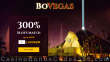 BoVegas Casino 300% Slots Match Bonus up to $3000 Welcome Deal