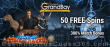 Casino Grand Bay 50 FREE Spins on Tales of Saucify Time Travel plus 300% Match Welcome Bonus Pack