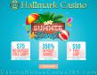 Hallmark Casino $125 FREE Chip plus 350% Match Bonus Summer Boost