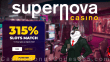 Supernova Casino 315% Match plus 15 FREE Rival Gaming Mystic Wolf Spins Welcome Bonus