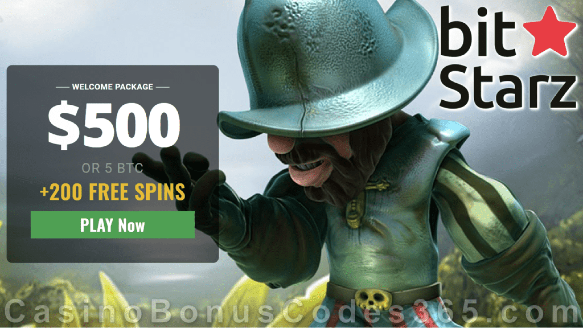 Bitstarz Casino 300% Match plus 200 FREE Spins Welcome Bonus NetEnt Gonzos Quest