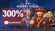 Cherry Gold Casino Exclusive 300% Slots Match Bonus