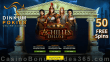 Dinkum Pokies New RTG Game Achilles Deluxe 50 FREE Spins Special Deal plus $3000 Welcome Bonus