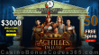 Platinum Reels 50 FREE Spins on RTG Achilles Deluxe Pre Launch Offer