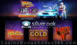 Silver Oak Online Casino Back to the Future Weekend 260% No Max Bonus plus 30 FREE Spins Special Deal