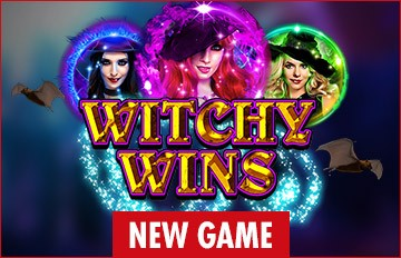 Intertops Casino Red 125% Bonus plus 50 FREE Spins on Witchy Wins New RTG Game Special Deal