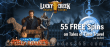 Lucky Creek 55 FREE Spins on Saucify Tales of Time Travel Exclusive No Deposit Promo