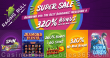 Raging Bull Casino Weekend Bargain Super Sale 320% No Max Bonus and More RTG Plentiful Treasure Diamond Fiesta Cash Bandits 3 Storm Lords