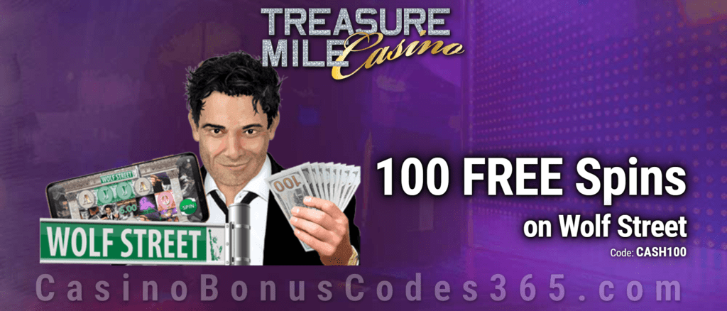 Treasure Mile Casino 100 Exclusive FREE Spins on Saucify Wolf Street