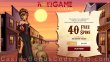DomGame Casino 40 FREE Rival Gaming Smoking Gun Spins Welcome Deal