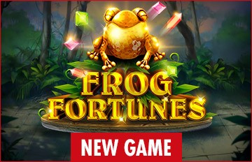 Intertops Casino Red 125% Bonus plus 50 FREE Spins on Frog Fortunes New RTG Game Special Deal