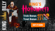 King Billy Casino King's Halloween Trick or Treat Bonus Playtech Halloween Fortune