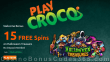 PlayCroco 15 FREE RTG Halloween Treasure Spins Special No Deposit Deal for All Players
