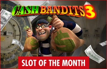 Intertops Casino Red RTG Cash Bandits 3 November Slot of the Month Special Deal
