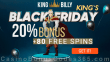 King Billy Casino King's Black Friday 2020 Quickspin Genies Touch