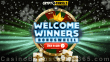 CryptoThrills Casino Xmas 2020 Welcome Winners Bonus Wheel