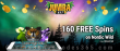 Jumba Bet 160 FREE Spins on Saucify Nordic Wild Special All Players No Deposit Promo