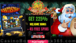 Lucky Hippo Casino 225% Match plus 45 FREE Spins on RTG Santastic Holiday Welcome Bonus