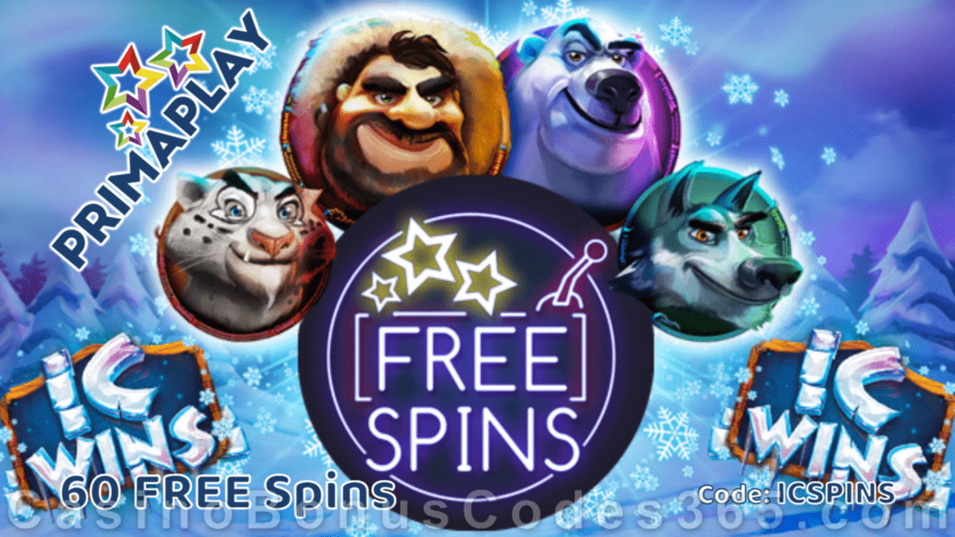 Prima Play IC Wins 60 FREE Spins Special New RTG Game Deal