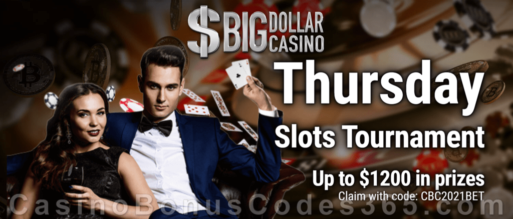 Big Dollar Casino CBC365 Thursday Slots Tournament Saucify
