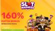 Slot Madness 160% Match No Rules Slots and Keno Bonus RTG