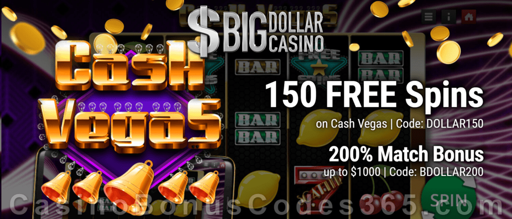 Big Dollar Casino Casino Bonus Codes 365
