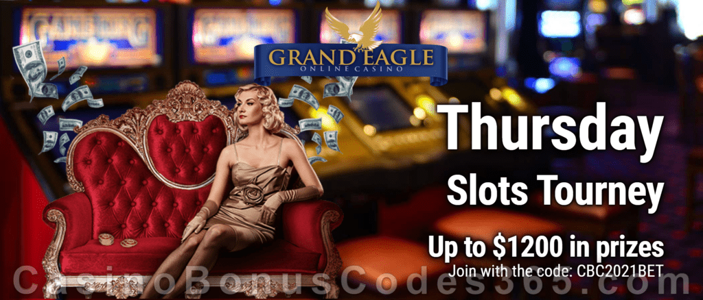Grand Eagle Casino CBC365 Thursday Slots Tourney Saucify