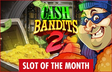 Intertops Casino Red Slot of the Month RTG Cash Bandits 2 Exclusive Deal