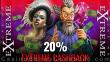 Casino Extreme 20% Cashback on every deposit