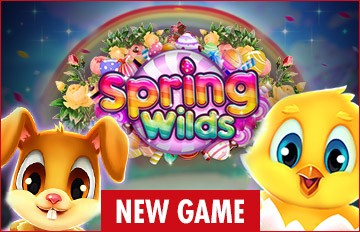 Intertops Casino Red 125% Bonus plus 50 FREE Spins on Spring Wilds New RTG Game Special Deal
