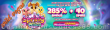 Wild Vegas Casino 285% No Max Bonus plus 40 FREE Spins on Spring Wilds New Game Special Deal
