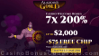 Aladdin's Gold Casino 200% Match up to $2000 Bonus for 7 Days Welcome Package RTG