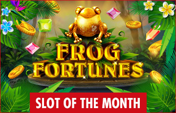 Intertops Casino Red Slot of the Month RTG Frog Fortunes Exclusive Deal