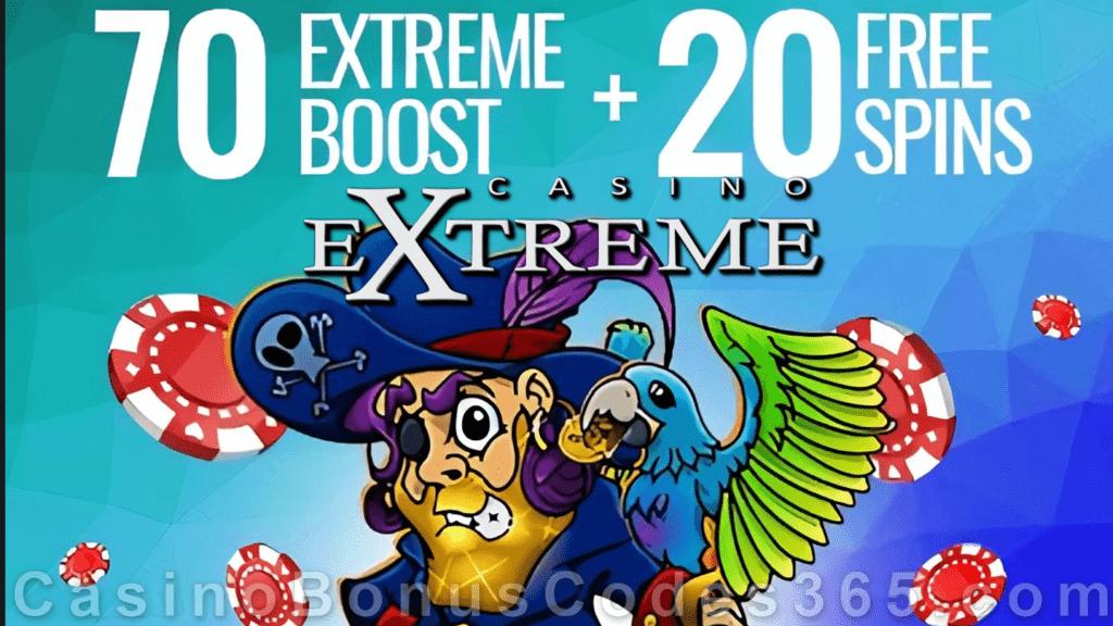 Casino Extreme Boost Bonus